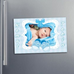 - Erkek Bebeklere Özel Buzdolabı Magneti