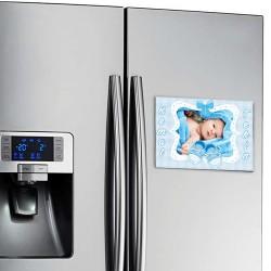 Erkek Bebeklere Özel Buzdolabı Magneti - Thumbnail