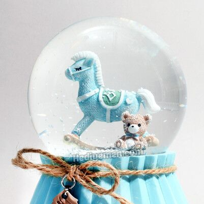 Erkek Bebeklere Özel Kar Küresi K14 - Thumbnail