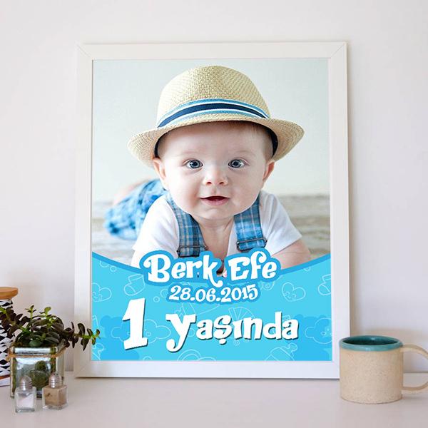 Erkek Bebeklere Özel Poster