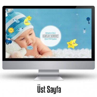Erkek Bebeklere Özel WEB Sitesi - Thumbnail