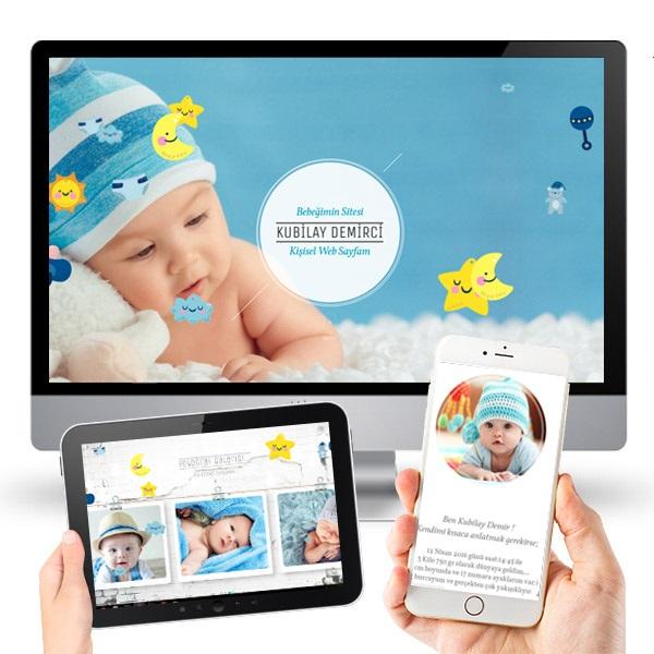 Erkek Bebeklere Özel WEB Sitesi