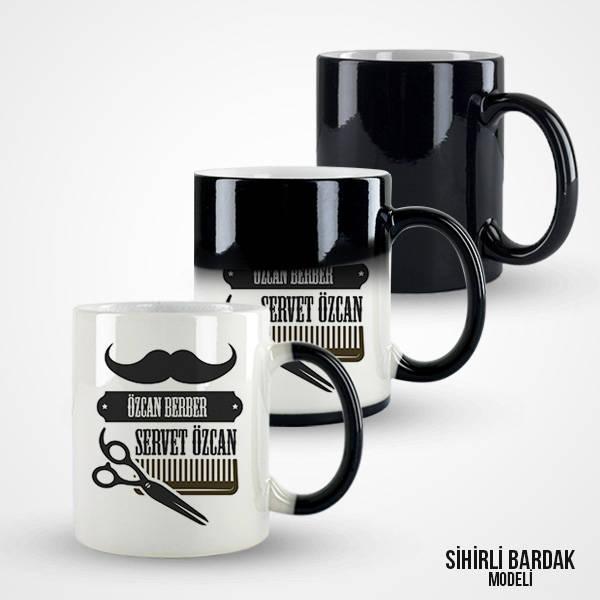 Erkek Berberlere Özel Kahve Kupası
