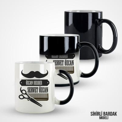Erkek Berberlere Özel Kahve Kupası - Thumbnail