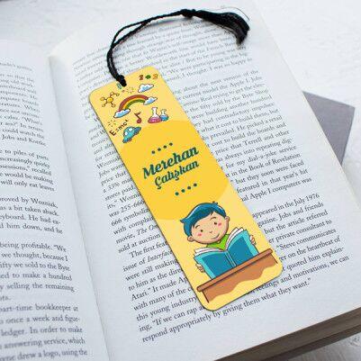 - Erkek Çocuklar İçin Kitap Ayracı