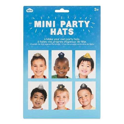 Erkek Çocuklar İçin Mini Parti Şapkaları