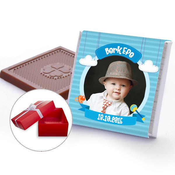 Erkek Çocuklara Özel Fotoğraflı Çikolatalar