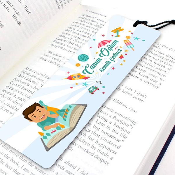 Erkek Çocuklara Özel Kitap Ayracı