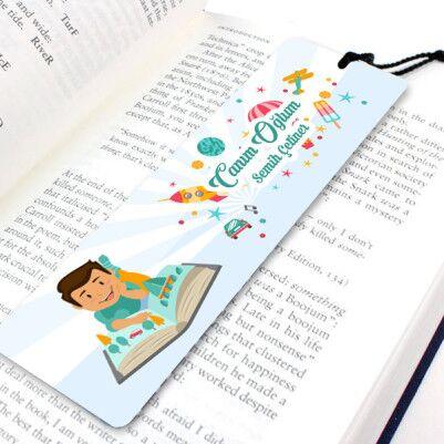 - Erkek Çocuklara Özel Kitap Ayracı