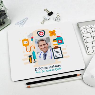 - Erkek Doktorlara Özel Resimli Mousepad