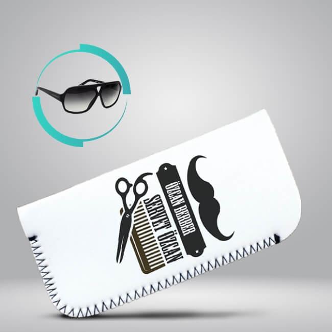 Erkek Kuaförüne Hediye Gözlük Kılıfı