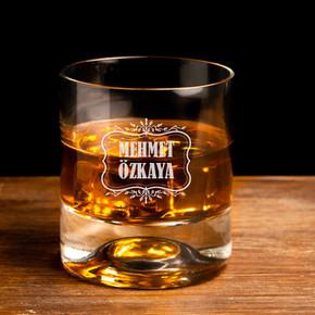 - Erkeklere Hediye İsimli Viski Bardağı