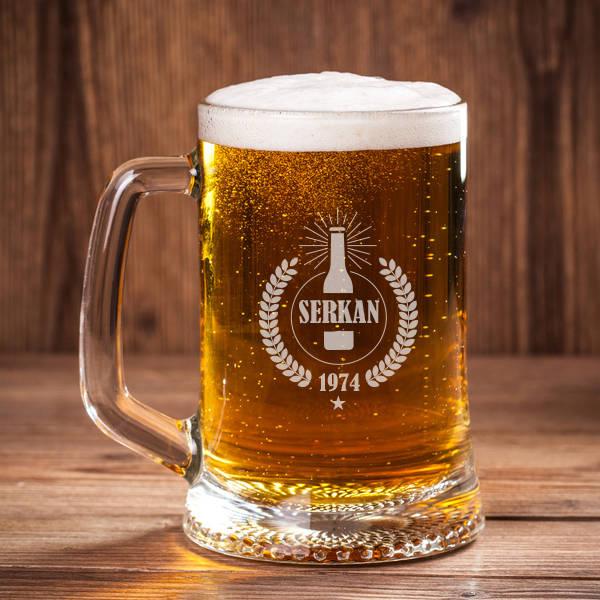 Erkeklere Özel Bira Bardağı