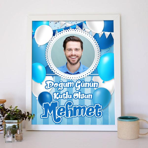 Erkeklere Özel Doğum Günü Posteri