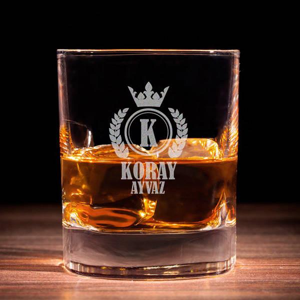 Erkeklere Özel Premium Viski Bardağı