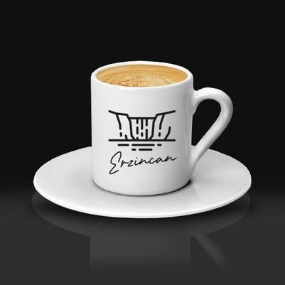 - Erzincan Temalı Kahve fincanı