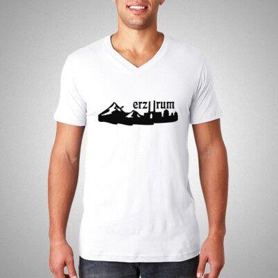 Erzurum Basklı Erkek Tişörtü - Thumbnail