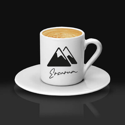- Erzurum Temalı Kahve fincanı