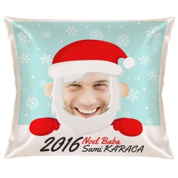 - Esprili Noel Baba Yılbaşı Yastık