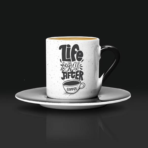 Estetik Tasarımlı Kahve Fincanı