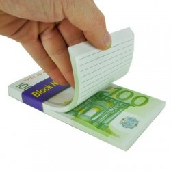 - Euro Notepad - 100 Euro Not Defteri