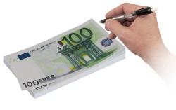 Euro Notepad - 100 Euro Not Defteri - Thumbnail