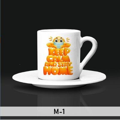 - EvdeKal Tasarımlı Kahve Fincanları