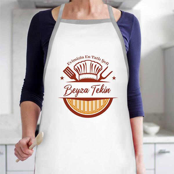 Evimizin En Tatlı Şefi Mutfak Önlüğü