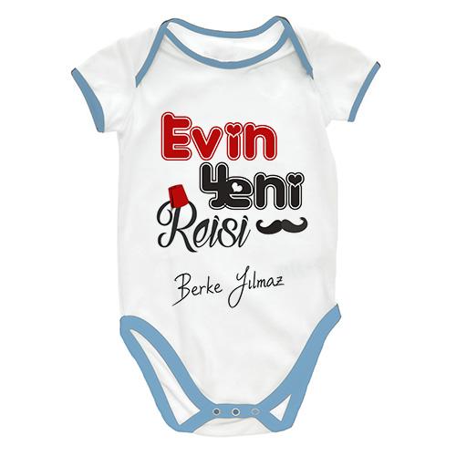 Evin Yeni Reisi Erkek Bebek Zıbını