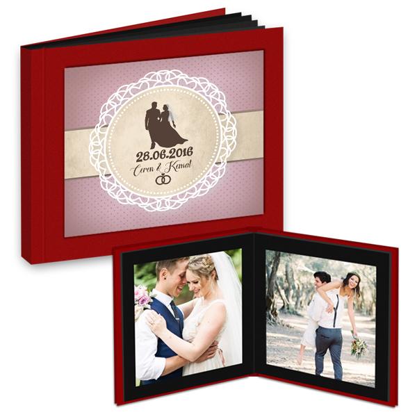 Evli Çiftlere Özel Fotokitap Albüm