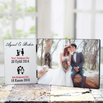 - Evli Çiftlere Özel Masaüstü Dekor