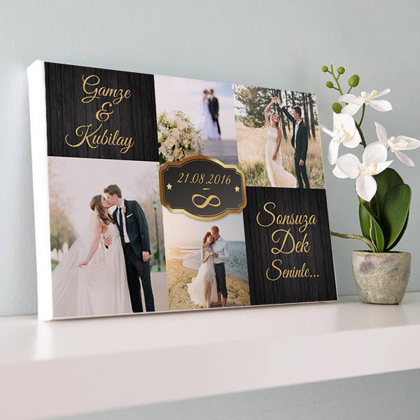 Evlilik Yıldönümü Kanvas Tablo