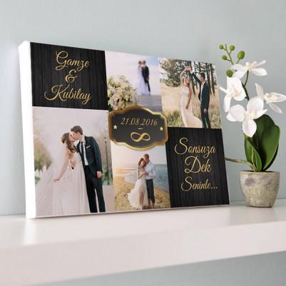 - Evlilik Yıldönümü Kanvas Tablo