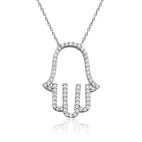 Fatma Ana'nın Eli Gümüş Kolye