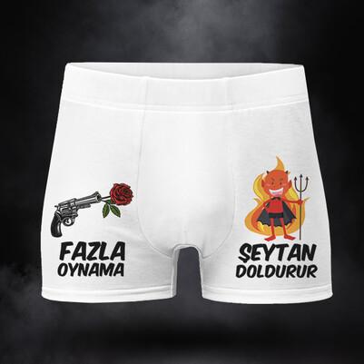 Fazla Oynama Şeytan Doldurur Boxer - Thumbnail