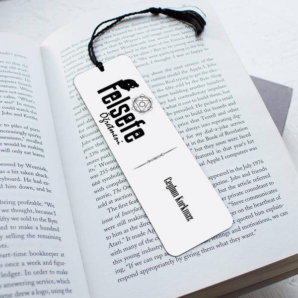 Felsefe Öğretmenine Hediye Kitap Ayracı