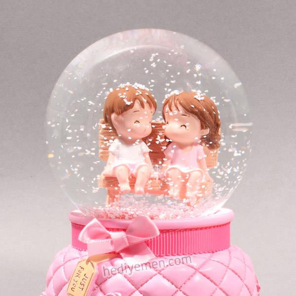 Aşkımız Bir Efsane Kar Küresi - K02