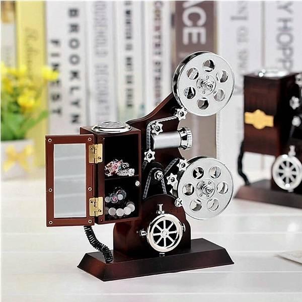 Film Makinesi Tasarımlı Müzik Kutusu