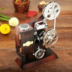 Film Makinesi Tasarımlı Müzik Kutusu - Thumbnail