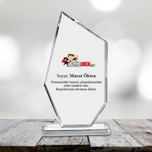 Firmalara Özel Kristal Plaket Ödül