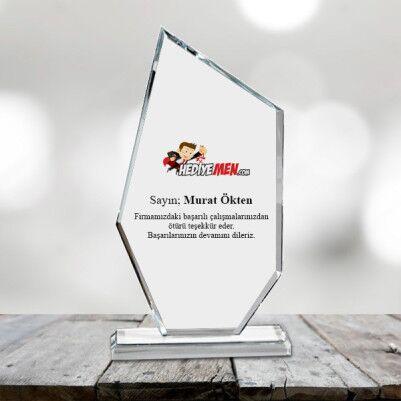 - Firmalara Özel Kristal Plaket Ödül