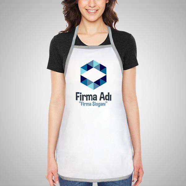 Firmalara Özel Logo Baskılı Mutfak Önlüğü