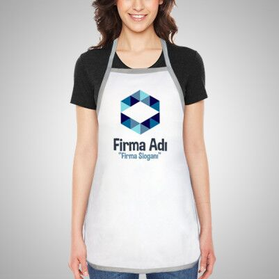 Firmalara Özel Logo Baskılı Mutfak Önlüğü - Thumbnail