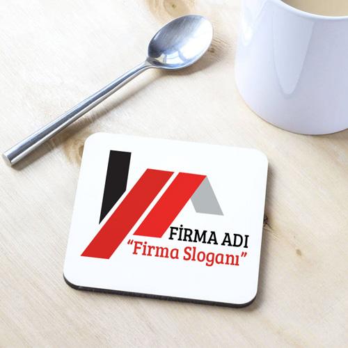Firmalara Özel Logolu Bardak Altlığı