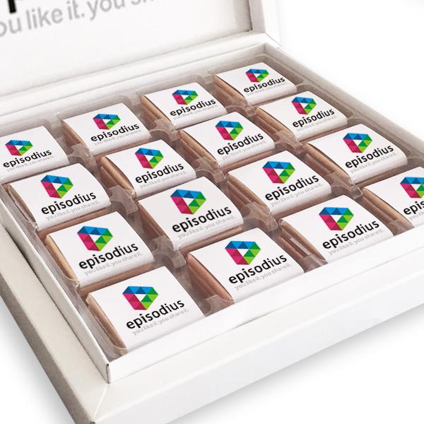 Firmalara Özel Logolu Çikolata