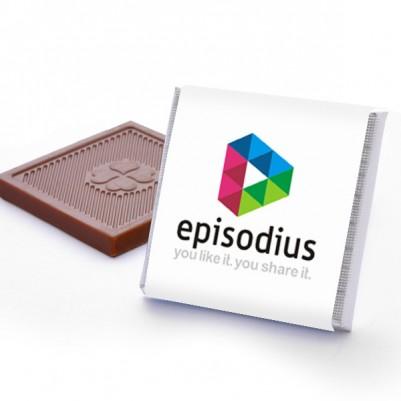 Firmalara Özel Logolu Çikolata - Thumbnail