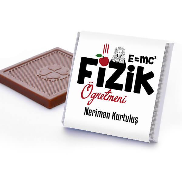 Fizik Öğretmenine Hediye Çikolata Kutusu
