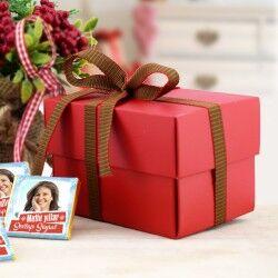 Fotoğraf Baskılı Mutlu Yıllar Çikolatası - Thumbnail