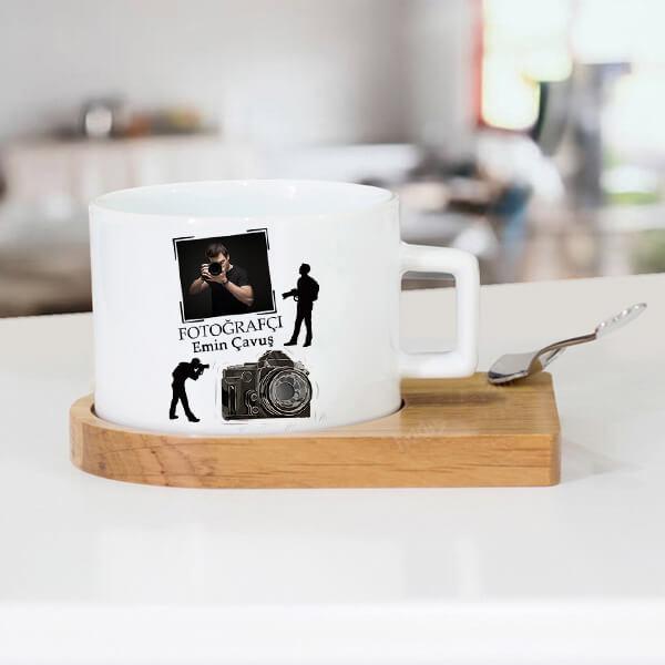 Fotoğrafçıya Hediye Çay Fincanı