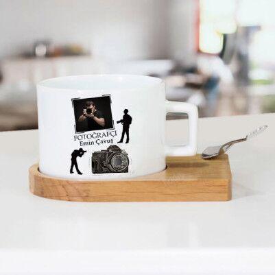 - Fotoğrafçıya Hediye Çay Fincanı